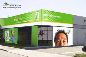 Custom Building Wraps Bay Area